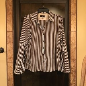 NWOT. Karl Lagerfield button up shirt